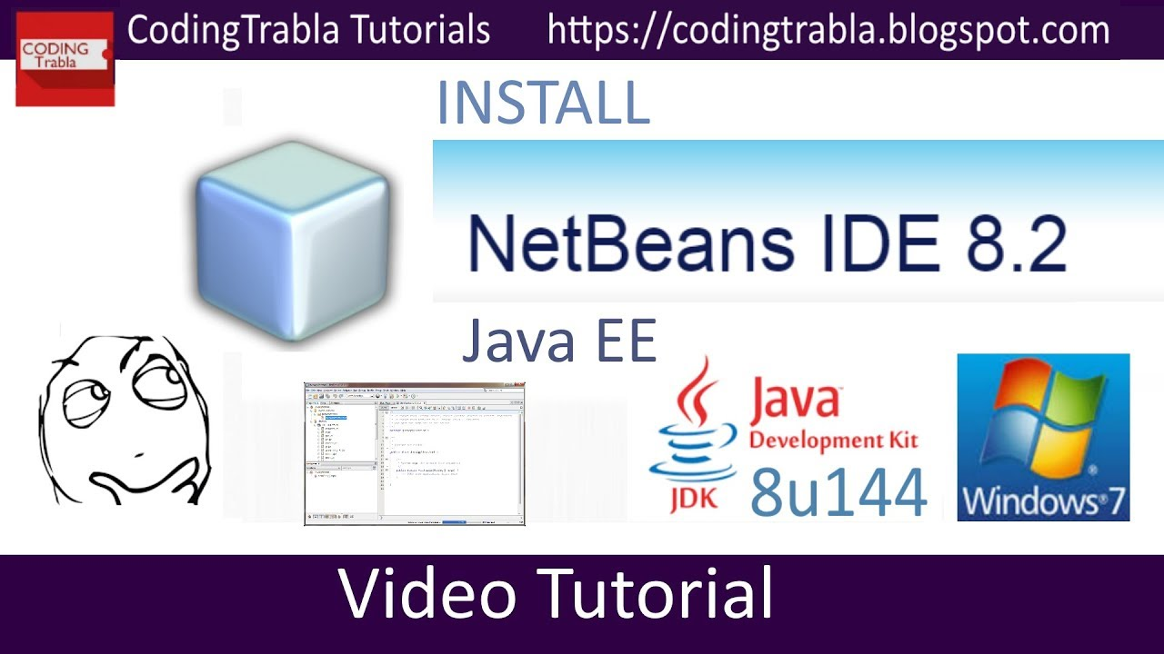 Java netbeans tutorial video images any tutorial examples install netbeans 82 2017 on windows 7 free opensource java ee install netbeans 82 2017 on baditri Choice Image