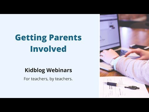 Getting Parents Involved