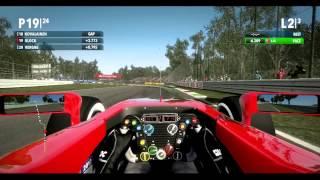 F1 2012 (Gameplay) - Marussia F1 Team - Italian Grand Prix [ HD 1080p ]