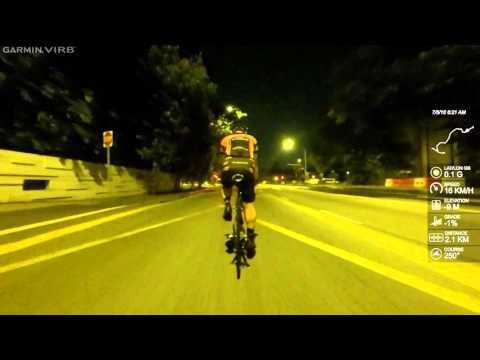 Sentosa Road Cycling (via East Coast Rd, Nicholl Hwy & Shenton Way)
