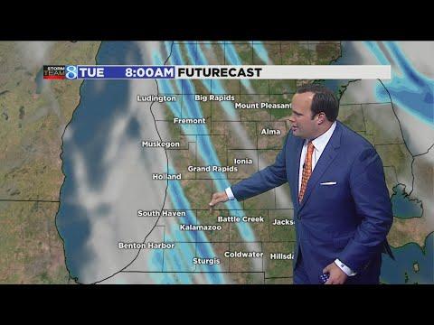 Major lake-effect snow to hit W. MI Tuesday