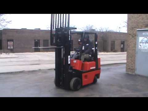 FORKLIFT FOR SALE #26118, NISSAN KCPH01A15PV
