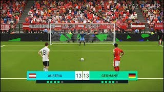 Download Video AUSTRIA vs GERMANY   Penalty Shootout   PES 2018 Gameplay PC MP3 3GP MP4
