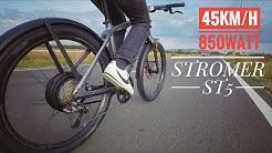 Hands On : STROMER ST5 Power-Ebike 45km/h 850Watt GSM GPS Touchscreen Di2 XTR