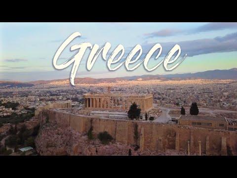 Greece Travel VLOG - DJI MAVIC PRO in 4K HD