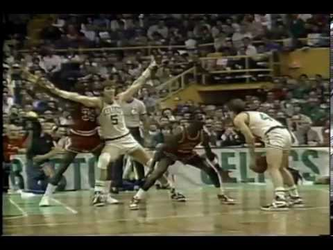"1986 Playoffs Classic - Michael Jordan vs Boston Celtics  ""63 points"""