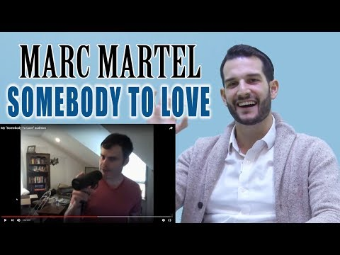 VOCAL COACH reacts to MARC MARTEL singing SOMEBODY TO LOVE by QUEEN1