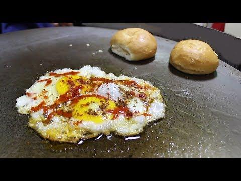 BEST EGG HALF FRY & OMELETTE | Egg Street Food in India | Street Food Unlimited