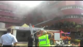Tragedi Hospital Sultanah Aminah terbakar