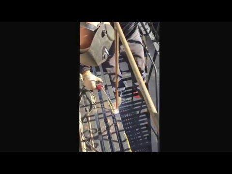 Safety bars code repair fire escape Manhattan.