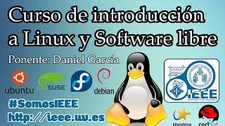 Curso de Introducción a Linux y Software Libre