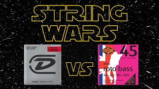 STRING WARS EP2 - DUNLOP Super Bright vs ROTOSOUND RB45 [JAZZ BASS]