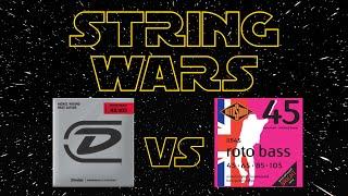 STRING WARS EP2 - DUNLOP Super Bright vs ROTOSOUND RB45 [JAZZ BASS]