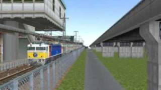 VRM3☆機関車シリーズEF81-89カシオペア.