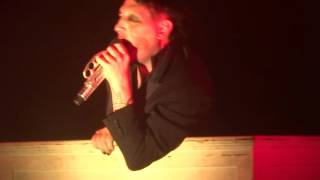 "Marilyn Manson - ""Cruci-Fiction in Space"" (Live in Santa Ana 10-20-15)"