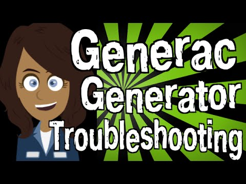 Generac Generator Troubleshooting