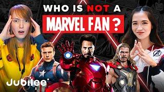 6 Marvel SUPERFANS vs 1 Secret DC Fan | Odd Man Out