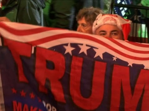 Trump Supporters Enthusiastic About Presidency