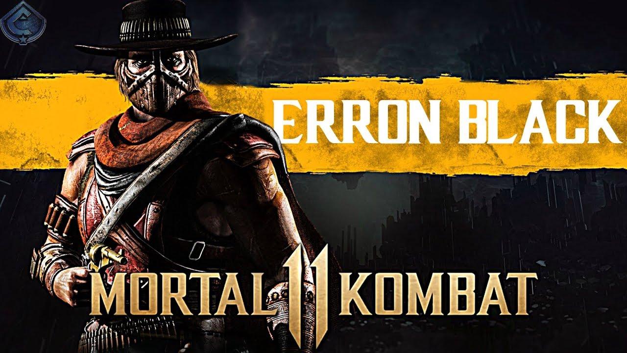 Mortal Kombat 11 - Erron Black LEAKED?!