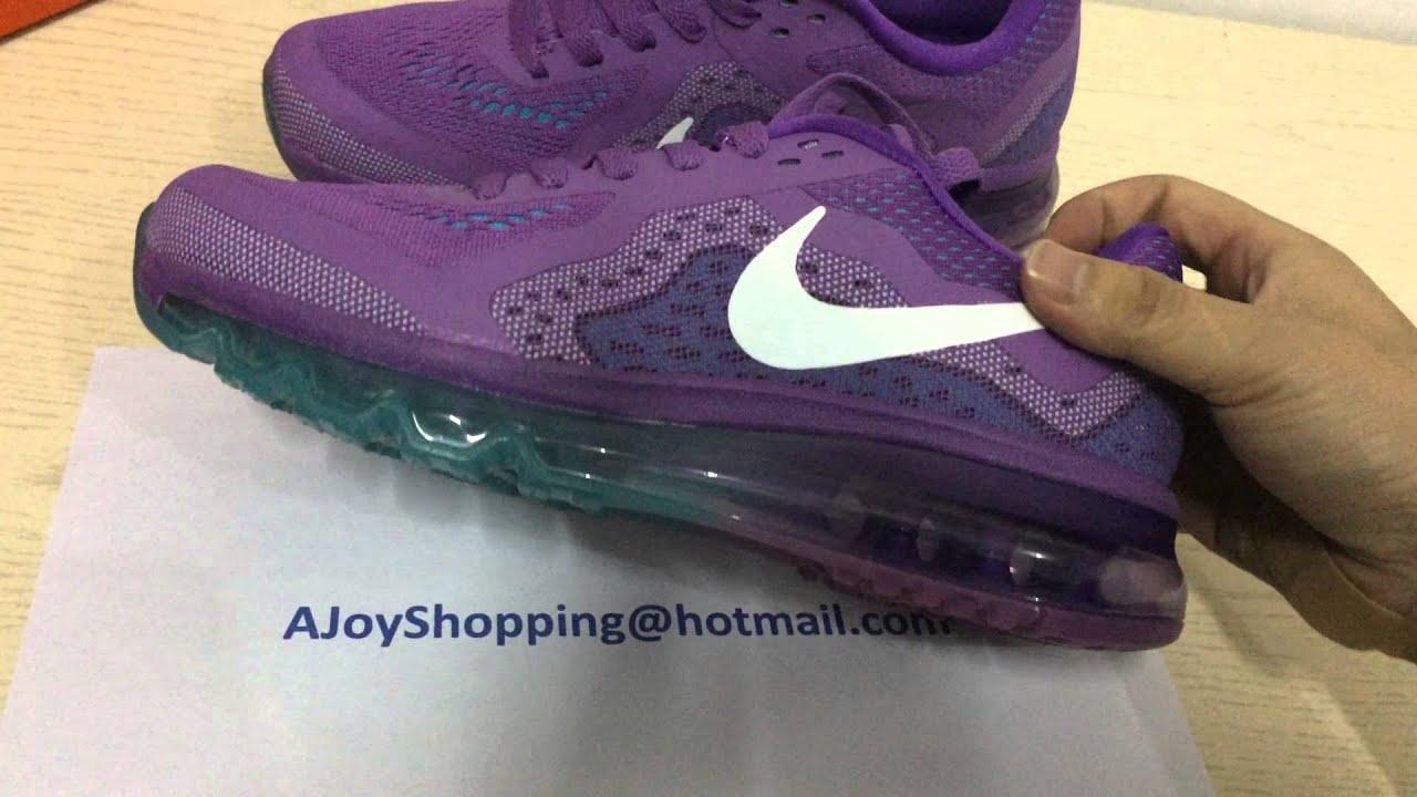 2014 Nike Air Max Purple