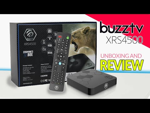 Buzztv XRS 4500 S905X3 4GB RAM 64GIG Storage 1GB LAN - Unboxing And Review