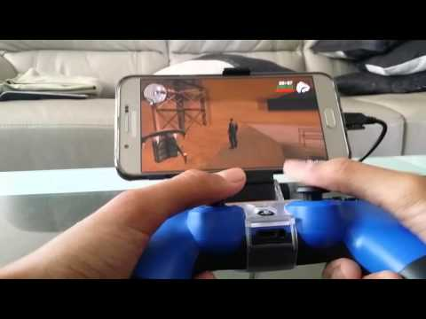 PS4 Controller And Android Device Tutorial