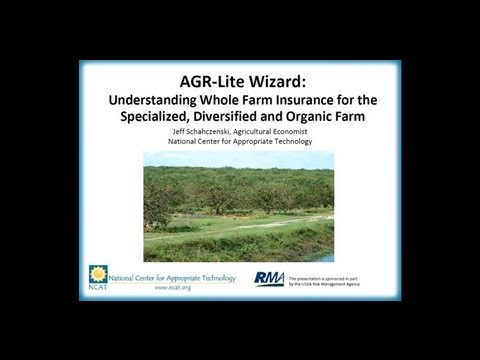 Understanding Whole-Farm Insurance for Specialized, Diversified, and Organic Farms