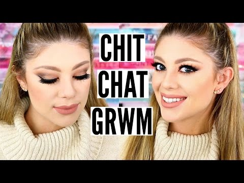 CHIT CHAT GRWM & FIRST IMPRESSIONS! | FILMING DAY