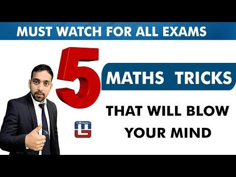 5 MATHS TRICKS THAT WILL BLOW YOUR MIND | SBI PO 2017