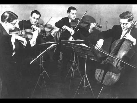 Amadeus Quartet plays Mozart String Quartet No.23, KV 590 'Prussian No.3'