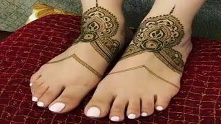 Arabic Foot Mehndi designs || Mehndi Designs On Hands || Wedding New Mehndi Design||mehndi designs