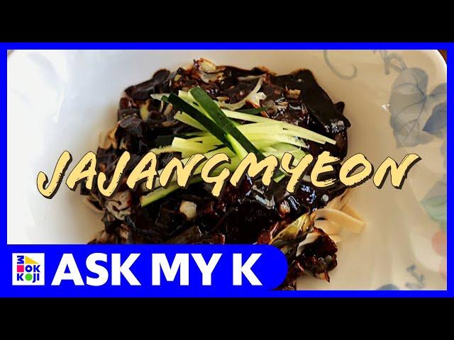 Ask My K : Las Coreanitas - Jajangmyeon Recipe