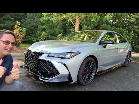 2020 Toyota Avalon TRD! You won't believe it!