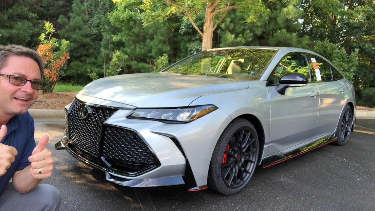 2020 toyota avalon trd! you won't believe it!