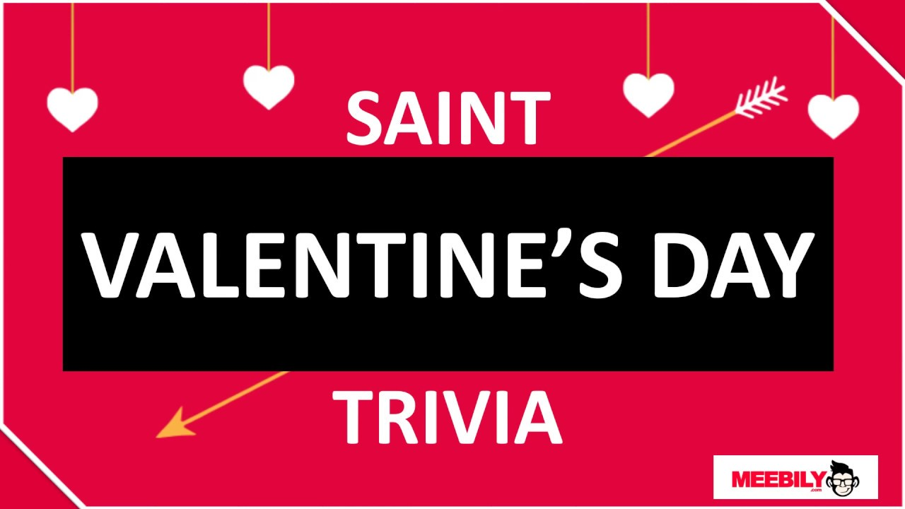 picture about 1950 Trivia Questions and Answers Printable named Valentines Working day Trivia Thoughts Remedies - Meebily