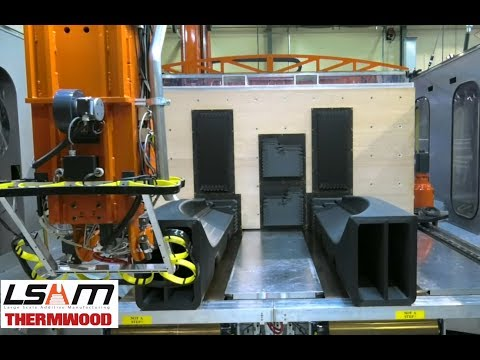 Thermwood Validates Additive Production of Yacht Hull Molds