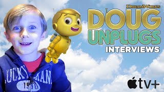 Doug Unplugs Interviews - Meet the Makers of the Apple TV Show! Dreamworks Animation