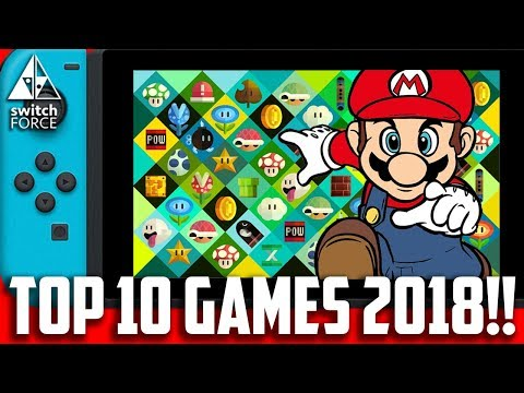 Top 10 Switch Games 2018 - CONFIRMED RELEASES!!