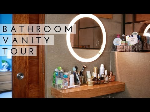 Les invito a mi rincón de belleza | Bathroom Vanity Tour