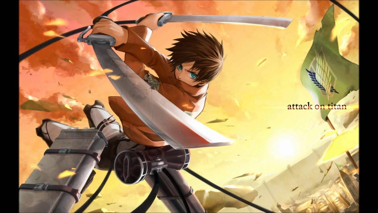 SNK(Attack on Titan) opening 1 full Nightcore - YouTube