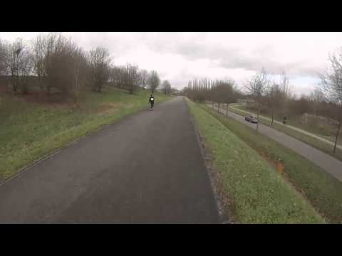 Midwinter Longboard marathon - raw run