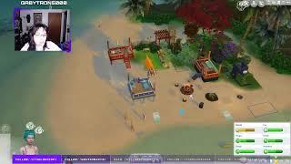 The Sims 4 Island Living: 3 Island Elders & Supernatural Beachbums