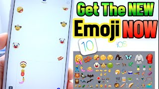 How to get the New Emojis Now No Jailbreak