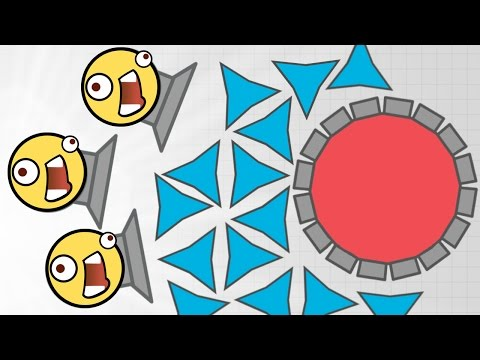 BEST TANK FOR DESTROYING MOTHERSHIPS!! - Diep.io New Tank Update - Max Mega Trapper Vs Mothership!