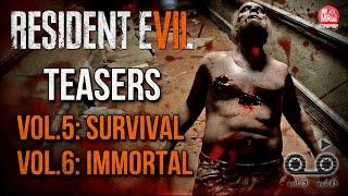 resident evil 7 vol 5 survival e vol 6 immortal teaser
