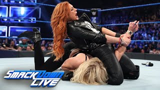Becky Lynch fends off Charlotte Flair's assault: SmackDown LIVE, March 5, 2019