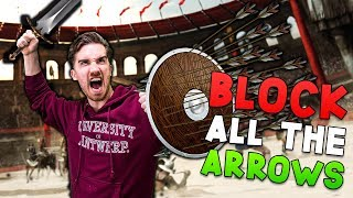 BLOCKING ALL THE ARROWS! | Blade And Sorcery VR - HTC Vive