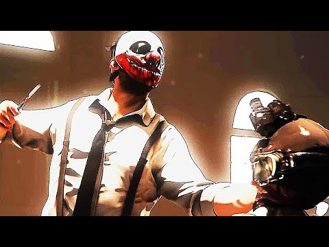 PAYDAY 2 Reservoir Dogs Heist Trailer (2017) PS4 / Xbox One / PC