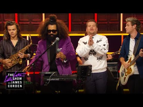 One Direction Says Goodnight with James & Reggie Watts