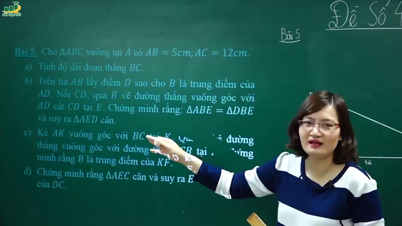 Toán lớp 7 –Đề thi môn TOÁN LỚP 7 GIỮA HỌC KÌ 2- Đề số 4 (P2)|Ôn tập, kiểm tra giữa học kì 2 lớp 7
